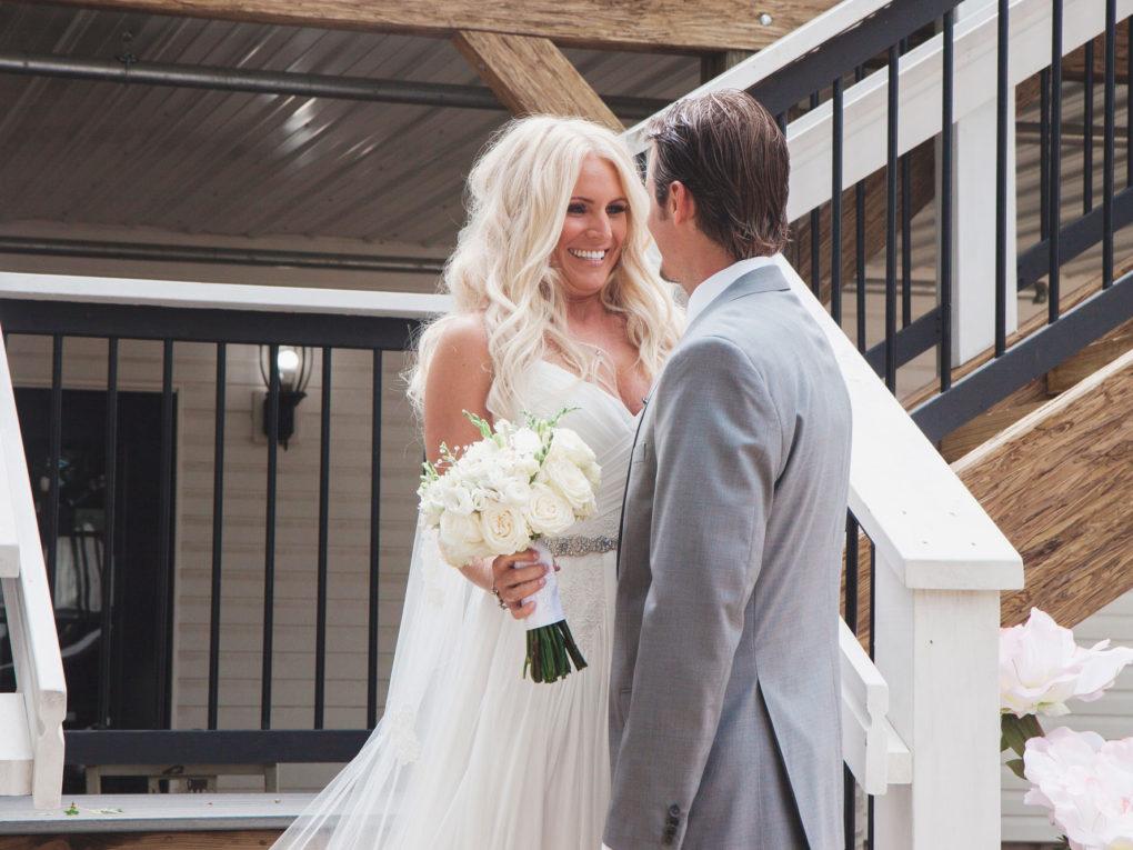 John P furber Farm wedding special moment
