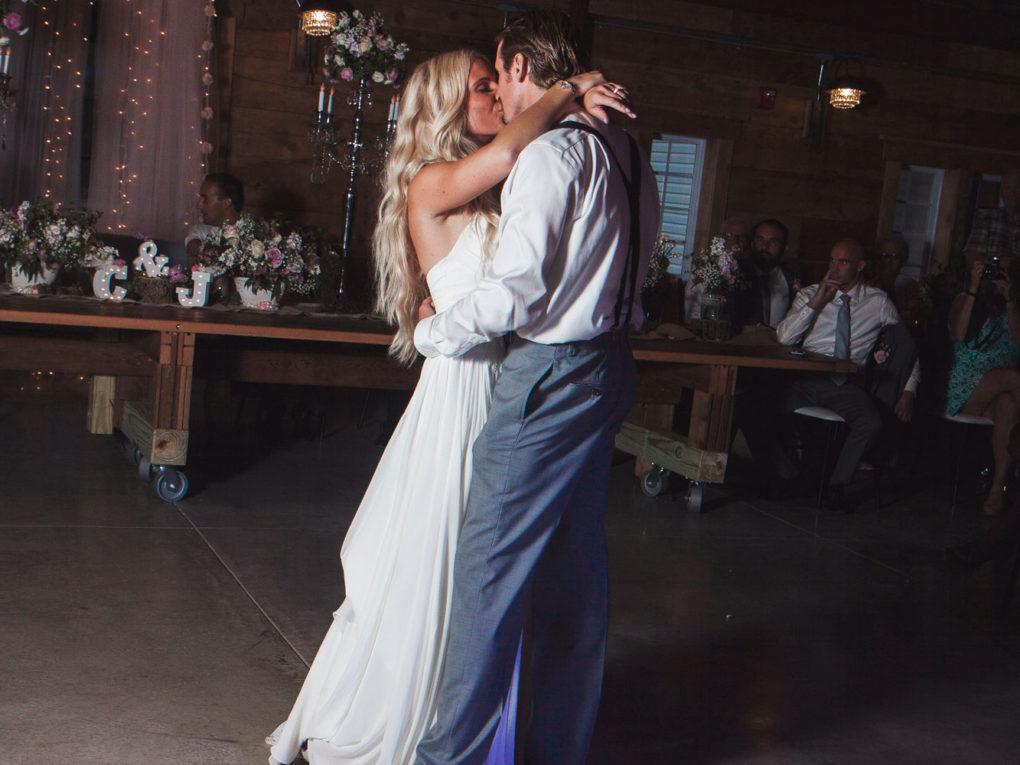 John P Furber Farm Wedding First Dance