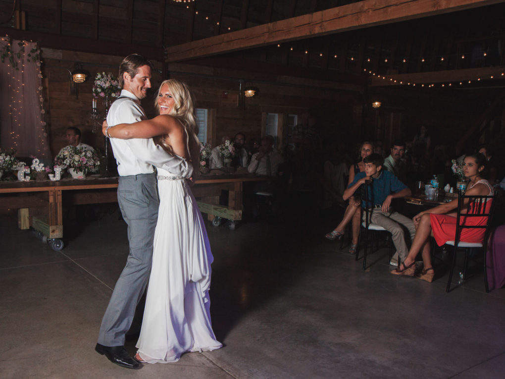 John P Furber Farm Wedding First Dance