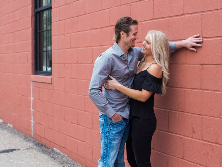 Carissa and Jason's engagements